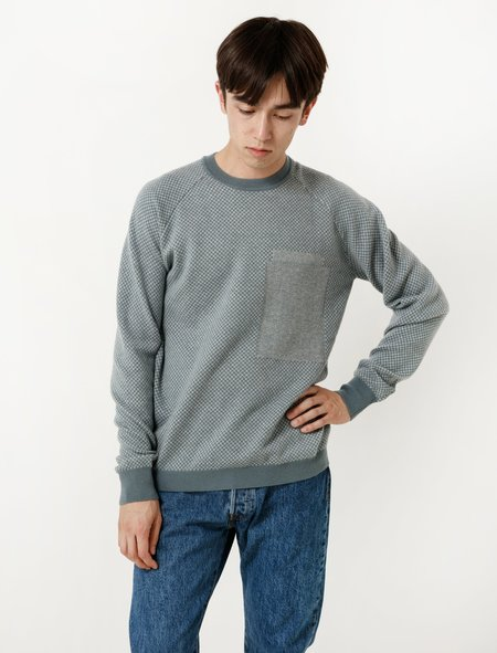 DDugoff Dave Sweater Blue/Light Blue
