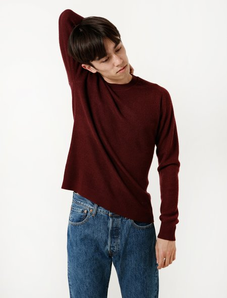 DDugoff Jason Sweater Oxblood