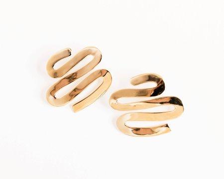 Luiny Smith Earring in Brass