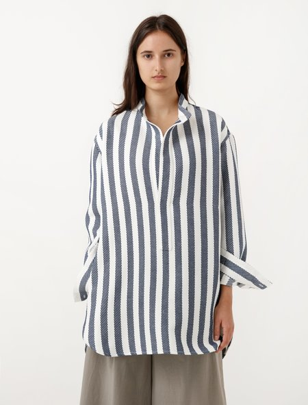 Cristaseya Japanese Striped Pocket Tunic