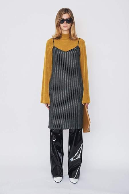Assembly New York Bamboo Stripe Cami Dress