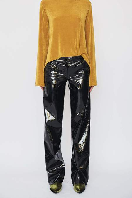 DAMA Patent Leather Axel Trouser