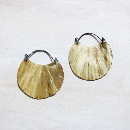 Slantt Studio Marin Earrings - Brass