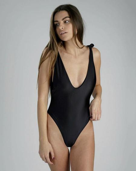 Sidway Anderson Swimsuit in Black