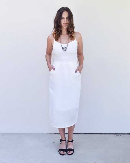 Objects Without Meaning Pleated Dress