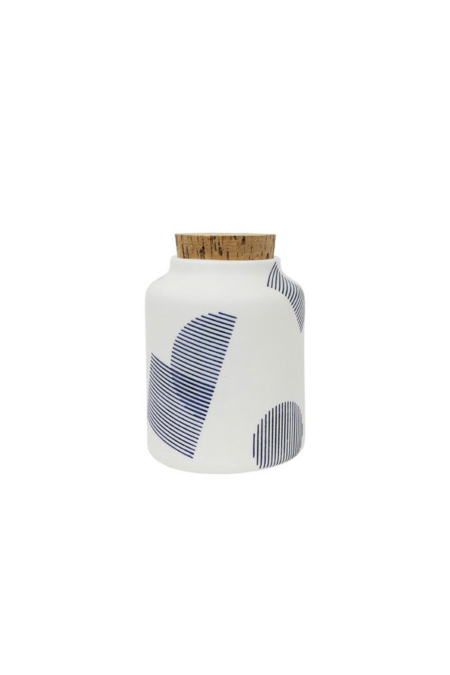 The Granite Seed Jar, Shapes In Navy
