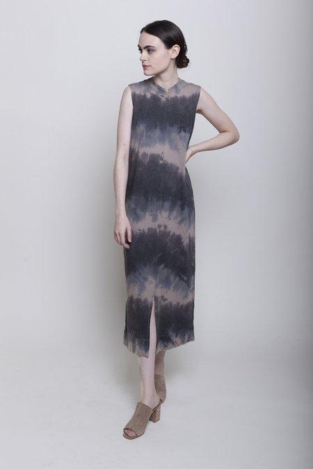 Raquel Allegra Split Muscle Tee Dress - Dusty Clay