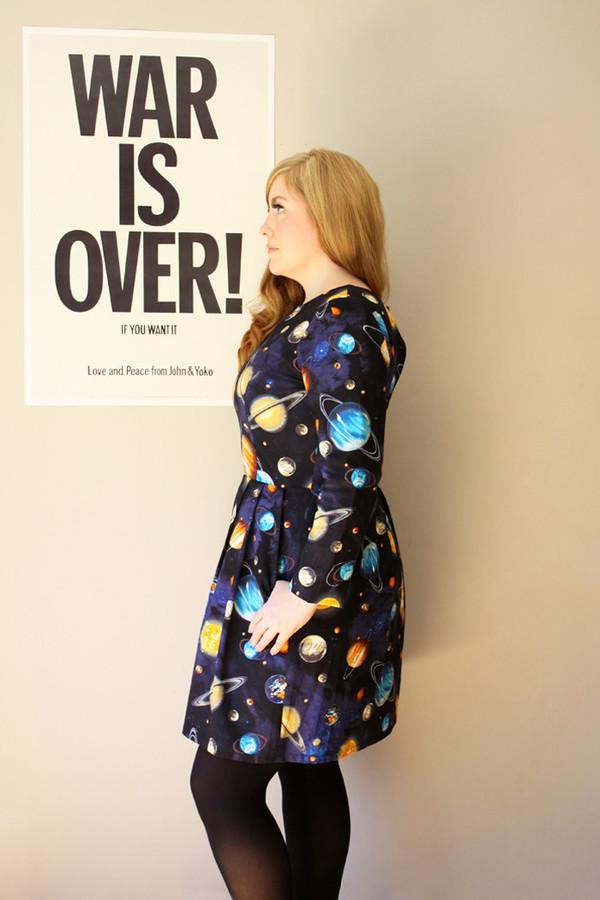 Birds of North America Puffbird Dress (Universe)