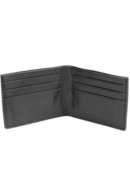Lotuff Leather Bifold Wallet - Black