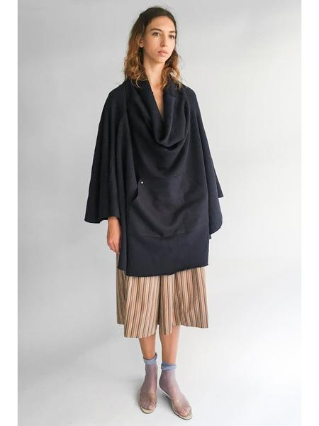 Unisex Bless Sweaterponcho - Navy