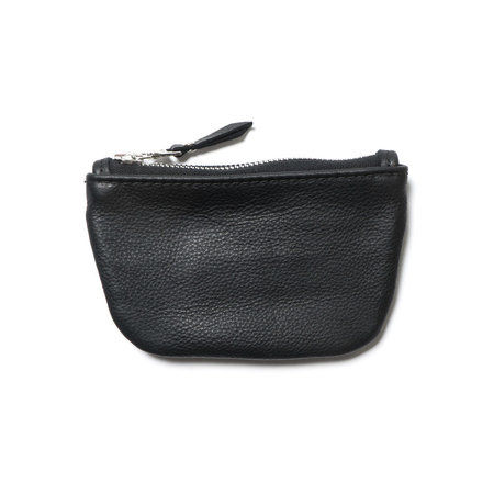 Maple Zip Pouch - Black
