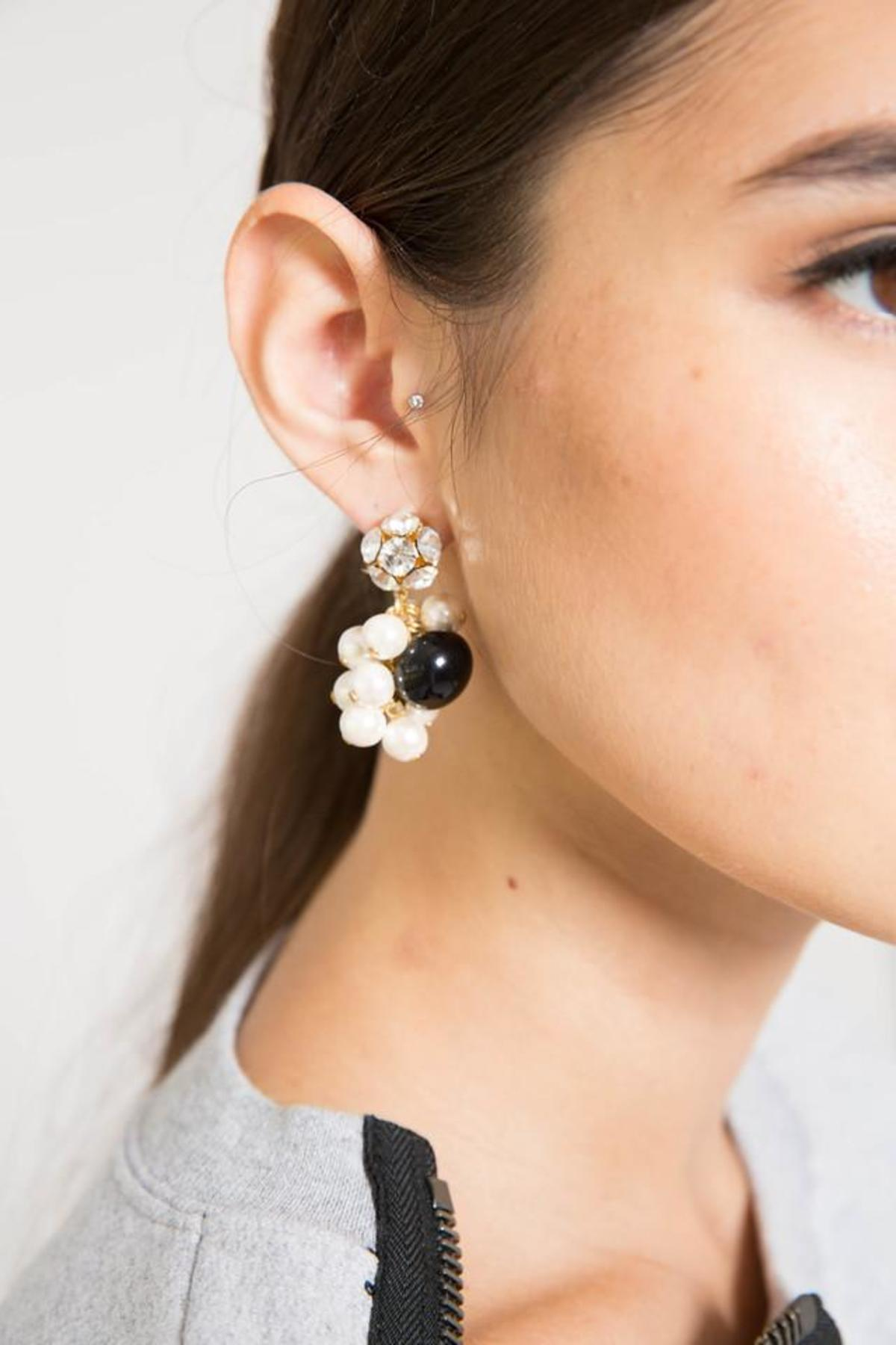 Rachel Comey Mira Crystal And Pearl Earrings 7A7vvF