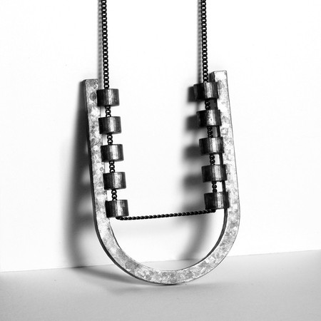 Metalepsis Projects The U Necklace - Bronze