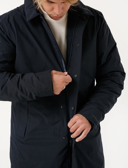 Norse Projects Mens Thor Goretex Navy