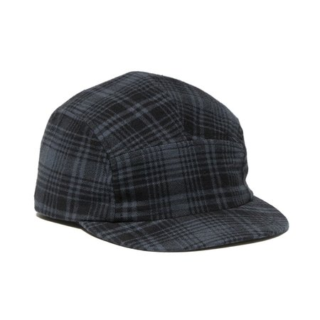 Maple Cap Check - Black