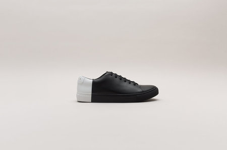 THEY Two-tone Low Sneakers - Black/White