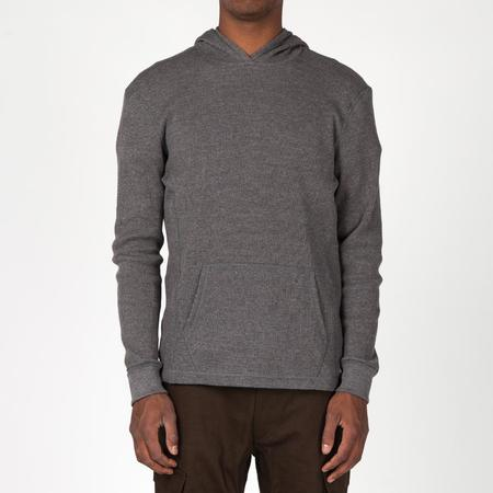{IE Waffle Pullover Hoody - Charcoal