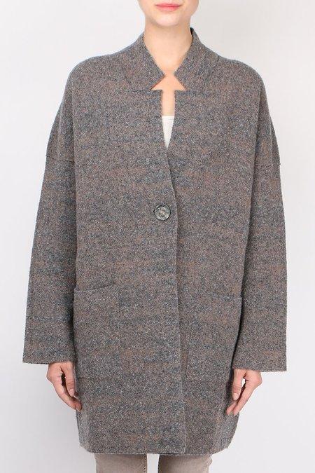 TONET Caban Jacquard jacket - Gray