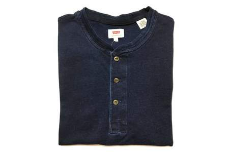 Men's Levis Red Tab Bryant Henley Dark Indigo XX