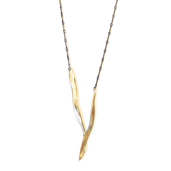 Renee Frances Jewelry Wishbone Necklace