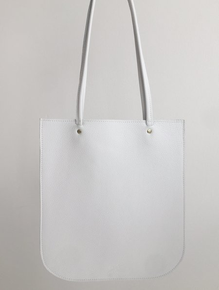 CHC Pebbled White Tote