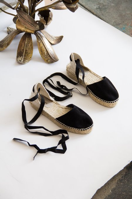Jutelaune LACE UP ESPADRILLES