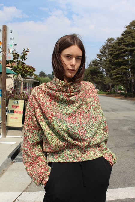Anntian Knit Mini Sweater Bright Noise