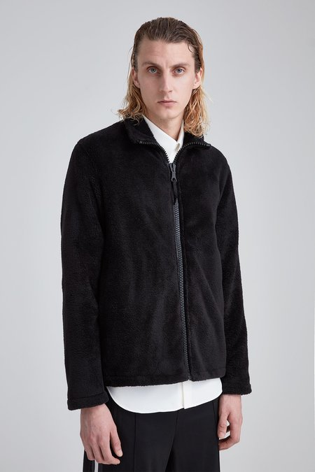 Our Legacy Funnel Blouson Black Polar Fleece