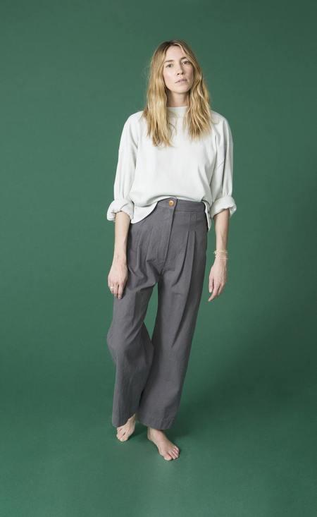 Ilana Kohn Phoebe Shirt - Bone