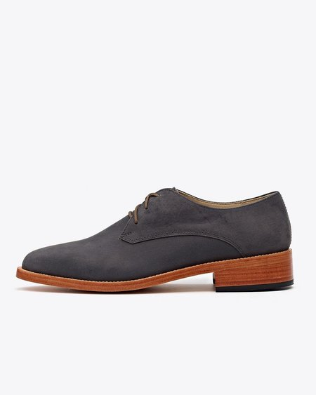 Nisolo James Oxford Slate Gray