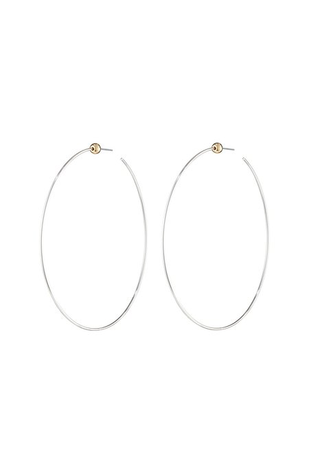 Jenny Bird Silver Icon Hoops