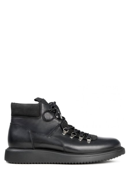Hudson London Leather Stange Hiker Boot