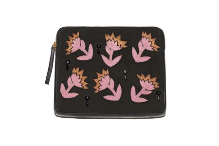 Lizzie Fortunato Safari Clutch in Electric Daisy