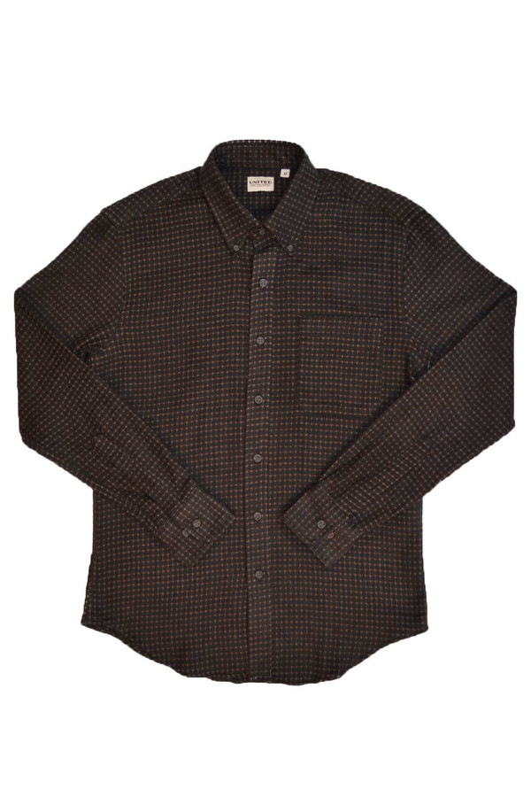 Men's United Stock Dry Goods Dobby Grid Shirt