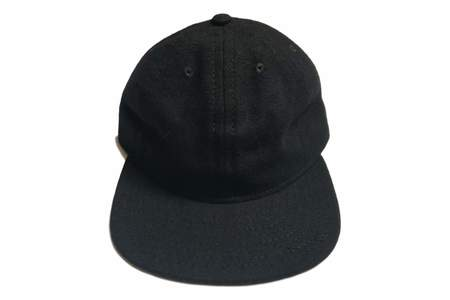 Save Khaki Wool Hopsack Unstructured Cap