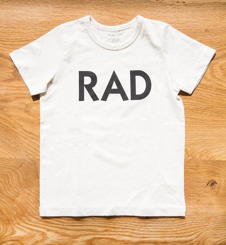 "Kids 6397 Mini Tiny Tee ""Rad"" Bone"