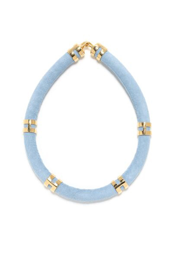 LIZZIE FORTUNATO DOUBLE-TAKE NECKLACE