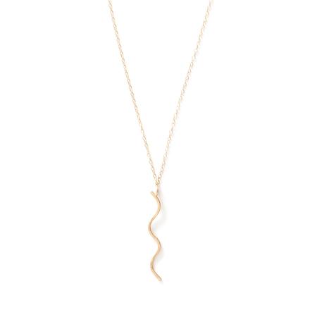 WKNDLA Cala Squiggle Necklace
