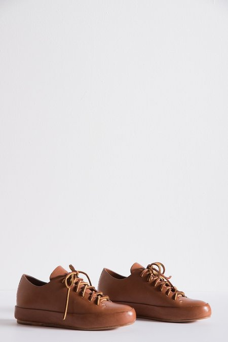 Feit Hand Sewn Low Sneaker in Cuoio