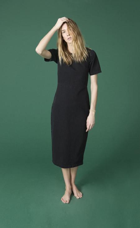 Ilana Kohn Lee Dress in Black Denim