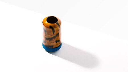 Workaday Handmade Tortoise Shell Vase