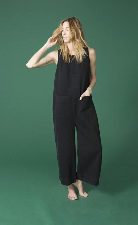 Ilana Kohn Harry Jumpsuit in Black Denim