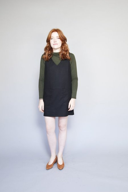 Eve Gravel Eames Dress - Ebony
