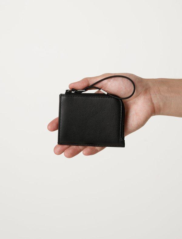 Our Legacy Mens Tuner Zip Wallet - Black