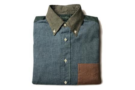 Gitman Vintage Fun - Chambray Flannel