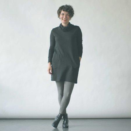 Curator Aspen Tunic in Black