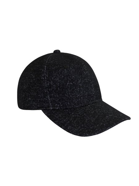 Wings + Horns Knit Wool 6-Panel Cap