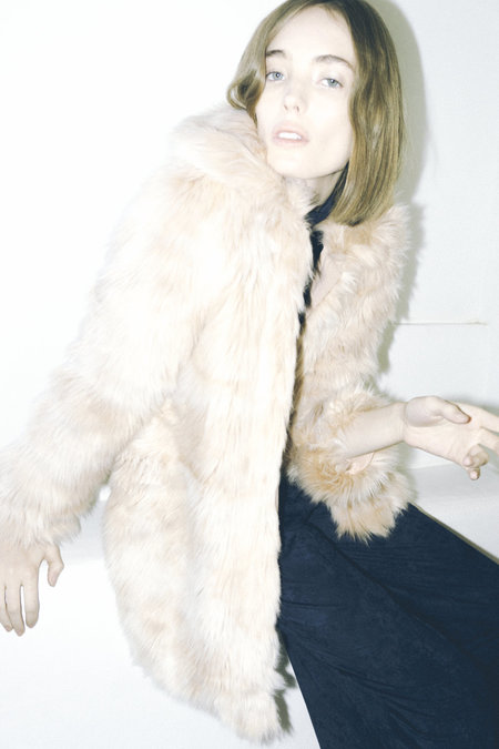Maria Stanley Palmer Coat