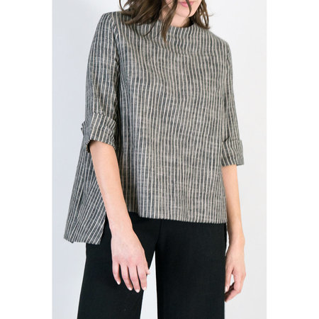 7115 NYC by Szeki Square Hem Top - Stripe