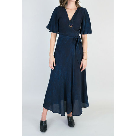Osei Duro Tulip Wrap Dress